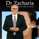 Dr Zacharia presenter