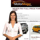 Motor Magic web presenter