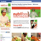 facebook page Nutrifood