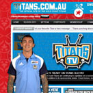 Gold Coast Titans web presenter